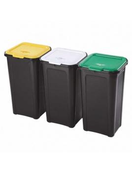 Kôš na triedený odpad 3 x 44 l