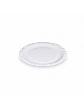 Papierové taniere plytké 18 cm (100 ks)