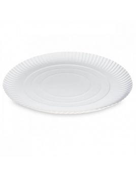 Papierové taniere hlboké 34cm (50 ks)