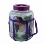 Demižón - pohár 5l sklo