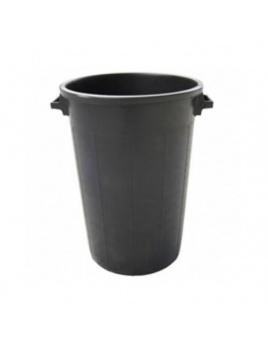 Sud plastový čierny 50l