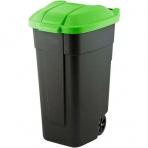 Curver nádoba na odpad nášľapná 110 l zelená