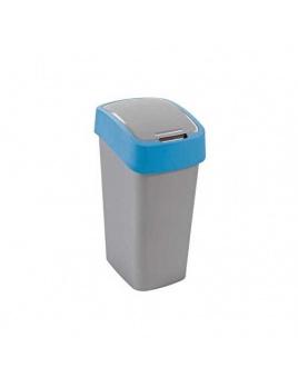 Curver odpadkový kôš Flipbin 10 l strieborná/modrá