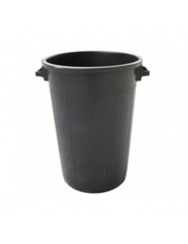 Sud plastový čierny 65l