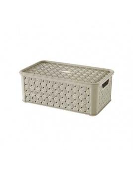 Box s vekom Arianna 4 l krémová