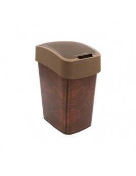 Curver odpadkový kôš Flipbin 25 l LEATHER
