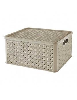 Box s vekom Arianna 13 l krémová