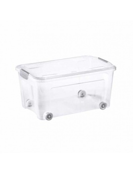 COMBI BOX CLIP 43 l s vekom transparent