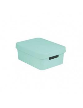 Úložný box INFINITY 11 l s vekom mint