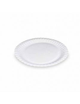 Papierové taniere plytké 23 cm (100 ks)