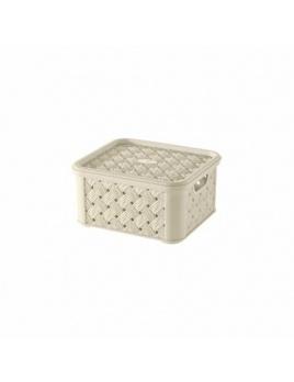 Box s vekom Arianna 1,4 l krémová