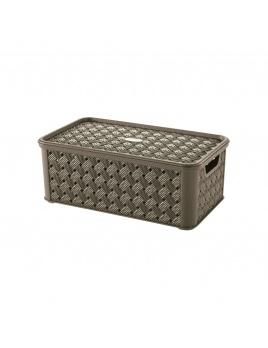 Box s vekom Arianna 4 l hnedá