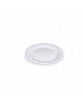 Papierové taniere plytké 15 cm (100 ks)