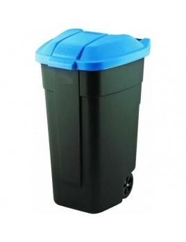 Curver nádoba na odpad nášľapná 110 l modrá