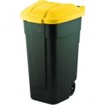 Curver nádoba na odpad nášľapná 110 l žltá